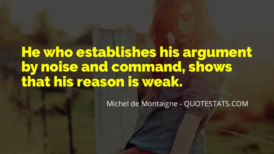 There's No Point In Arguing Quotes #1061391