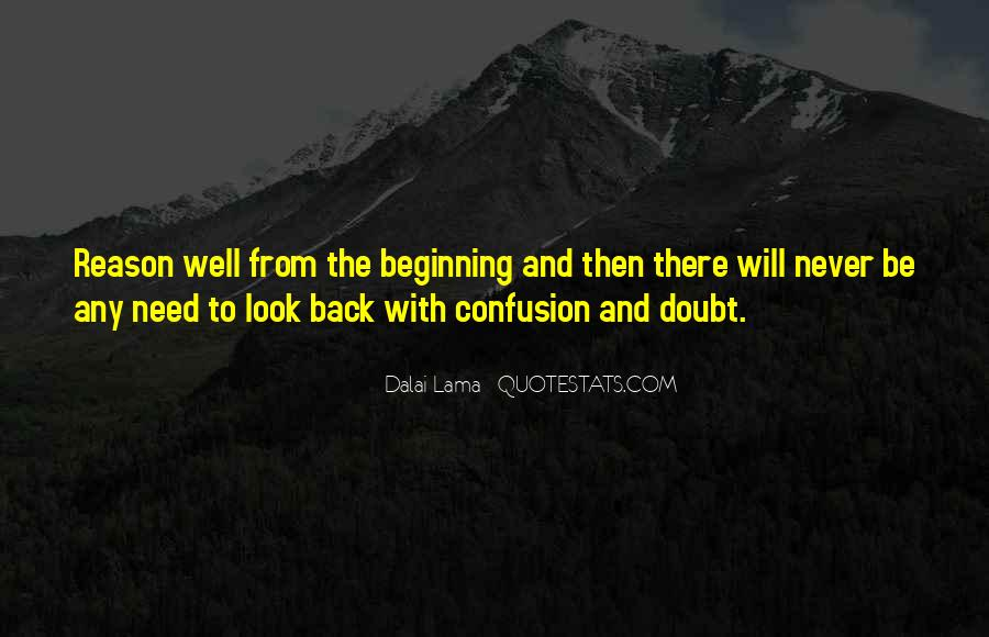 There's No Reason To Look Back Quotes #551897