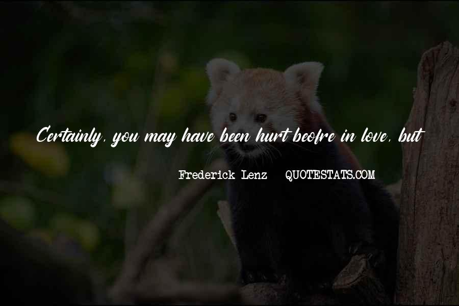 They Can't Hurt You Quotes #1227682