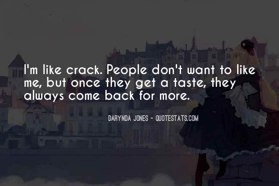 They Come Back Quotes #134302