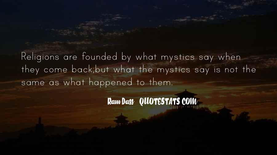 They Come Back Quotes #170280