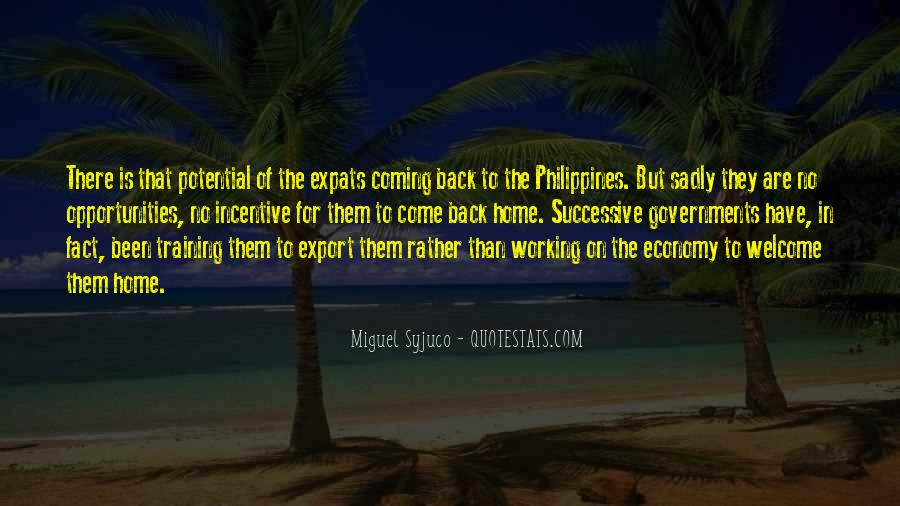 They Come Back Quotes #266143