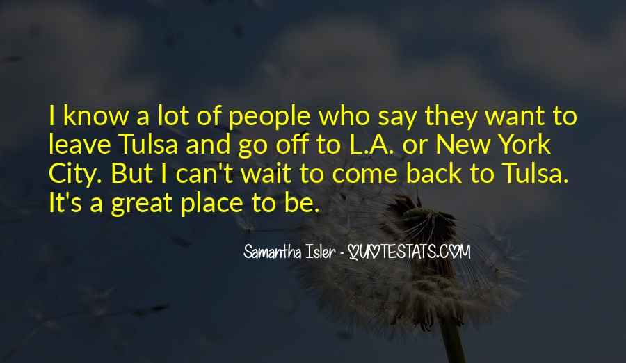 They Come Back Quotes #55705