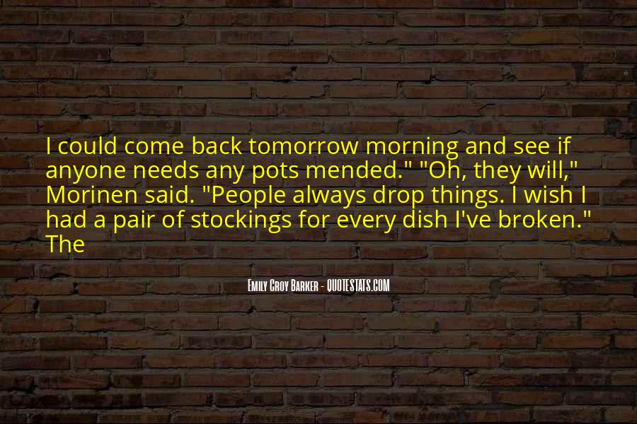 They Come Back Quotes #97735