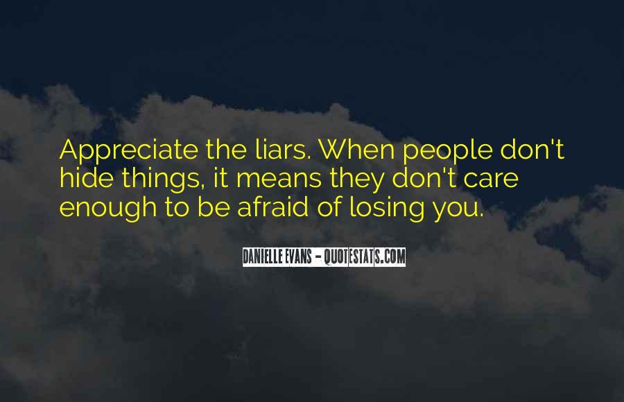 They Don't Appreciate Quotes #919338
