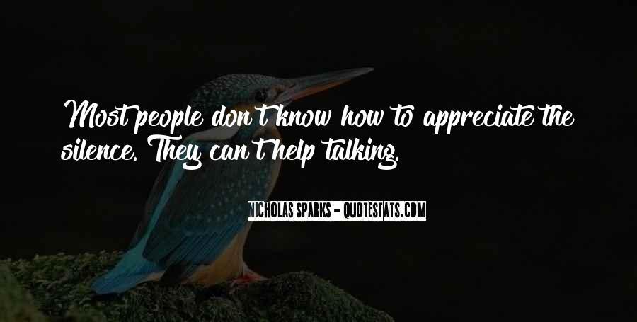 They Don't Appreciate Quotes #950003