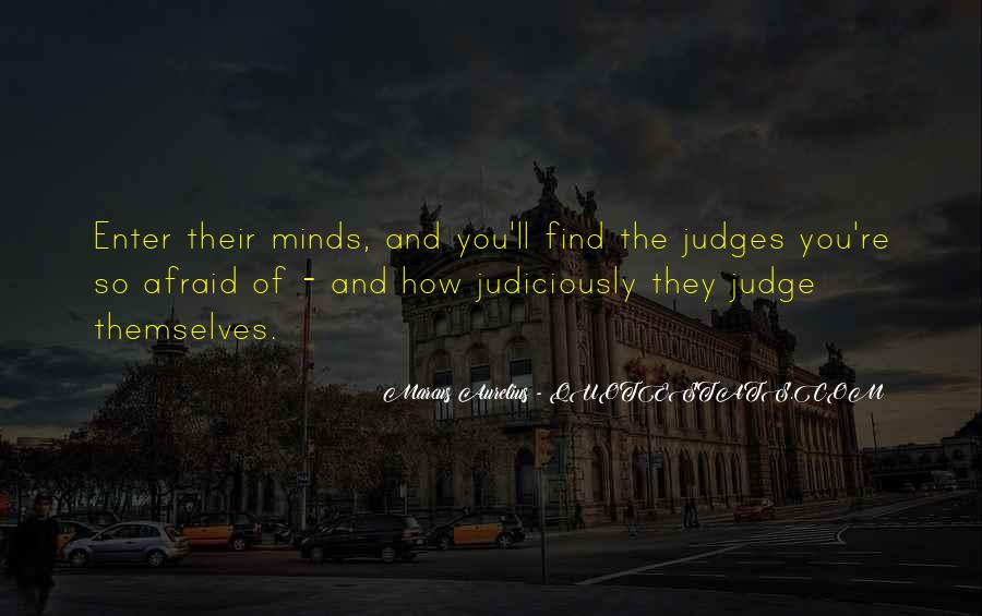 They Judge You Quotes #1050755