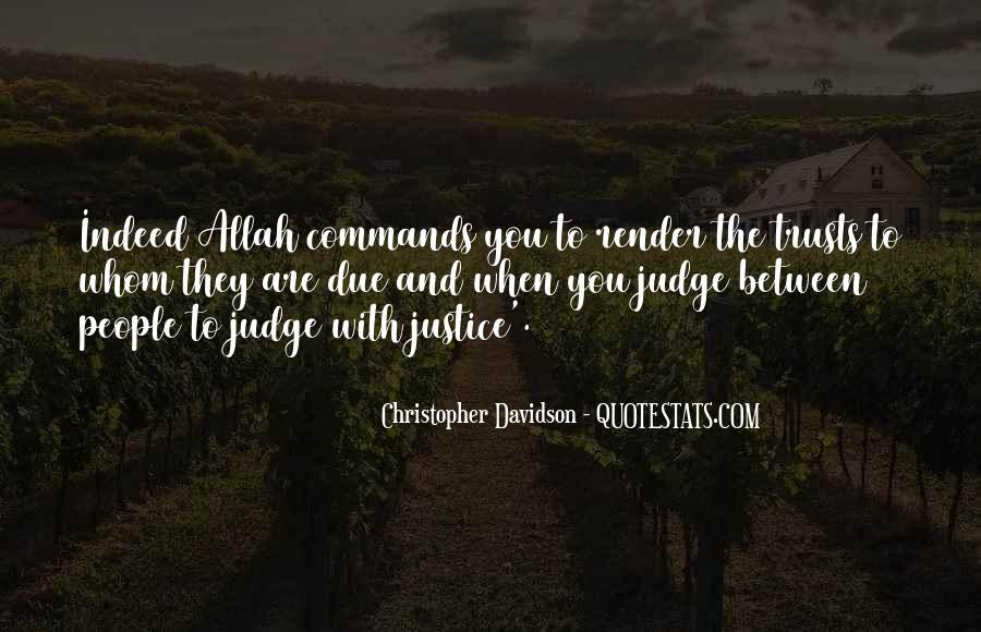 They Judge You Quotes #1180688