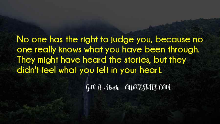 They Judge You Quotes #263885
