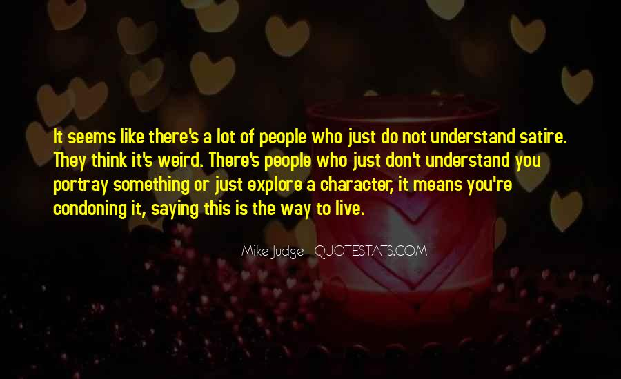 They Judge You Quotes #336123