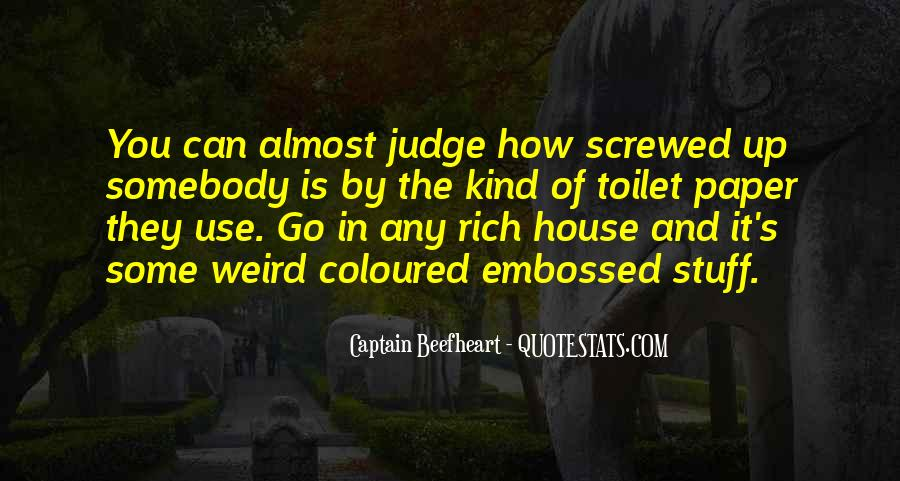 They Judge You Quotes #345523