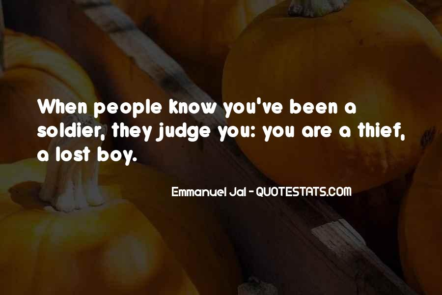 They Judge You Quotes #373996