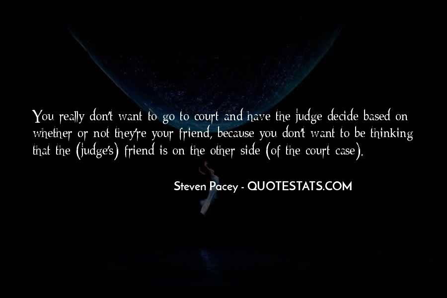 They Judge You Quotes #416948