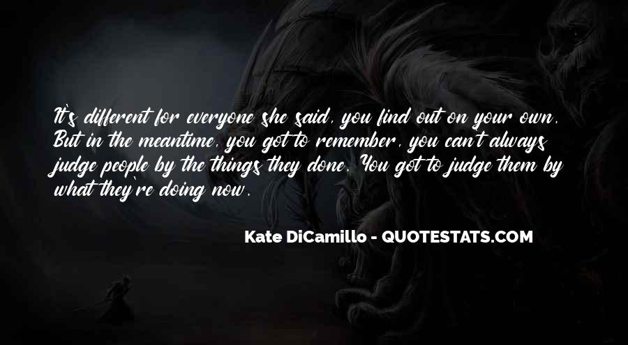 They Judge You Quotes #52270
