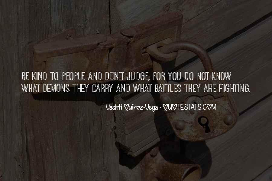 They Judge You Quotes #80318