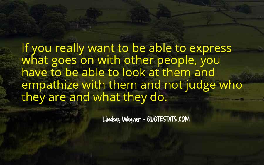 They Judge You Quotes #939771