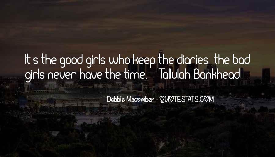 Quotes About Bad Girls #213469