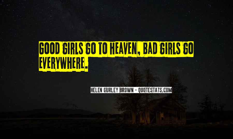 Quotes About Bad Girls #441134
