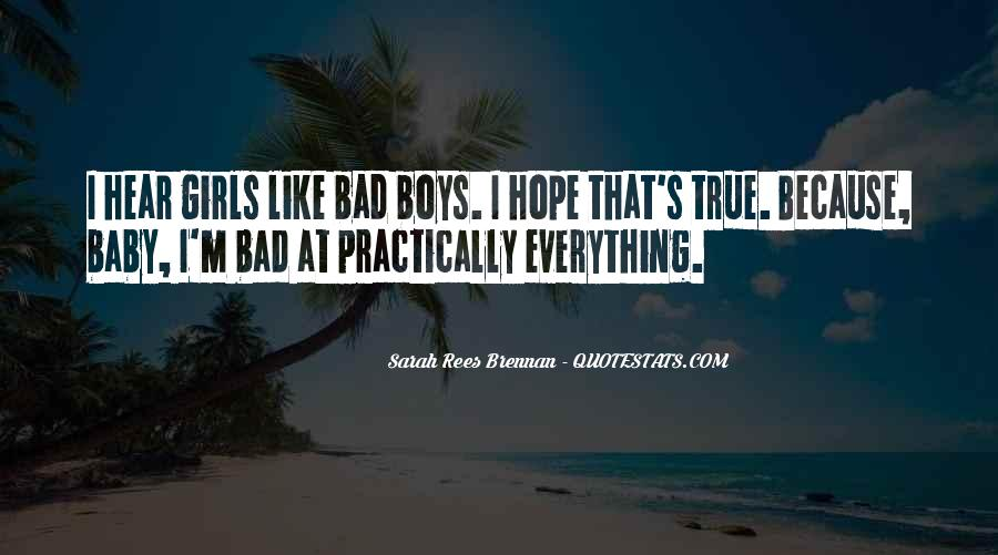 Quotes About Bad Girls #788347