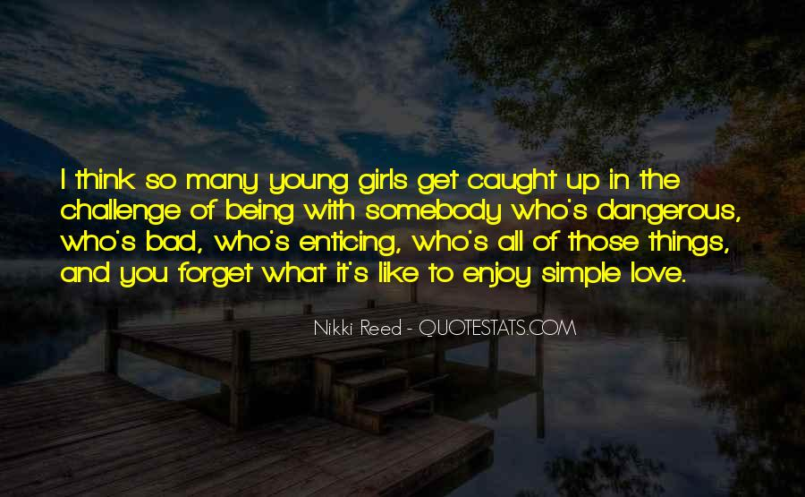 Quotes About Bad Girls #916408