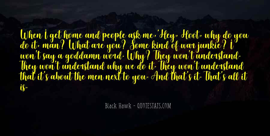 They Say That Quotes #36650