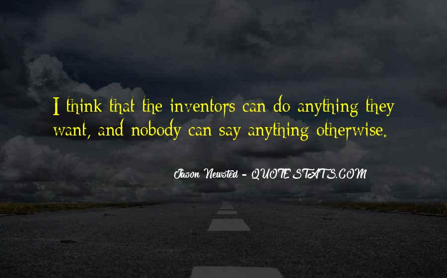 They Say That Quotes #38916