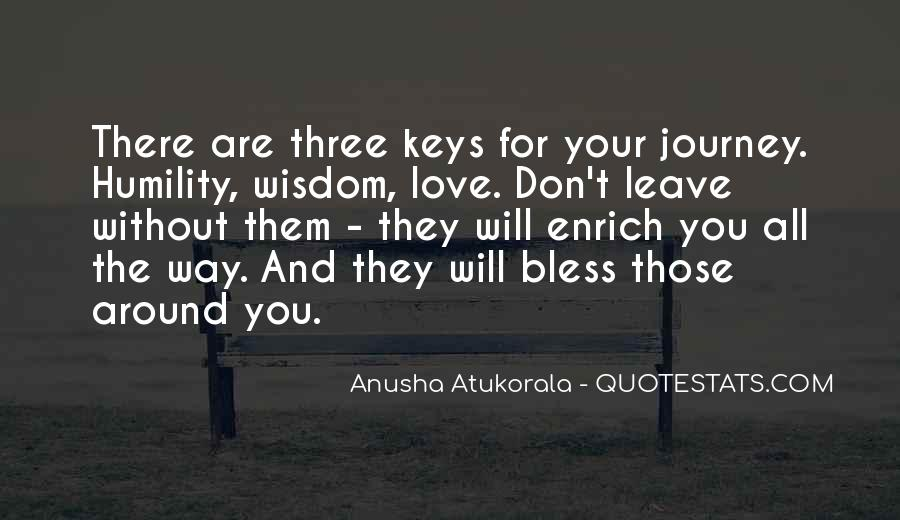 They Will Leave You Quotes #1016955