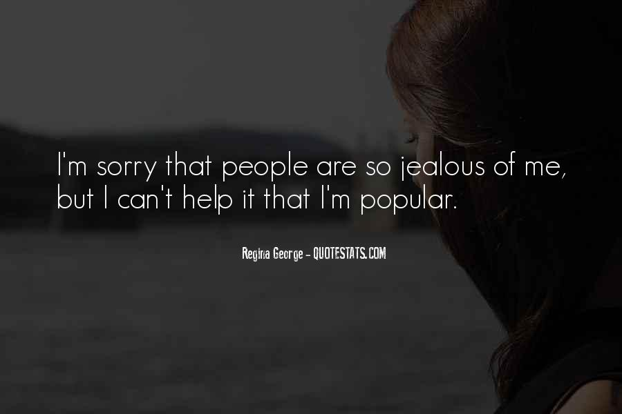 They're Just Jealous Quotes #38984