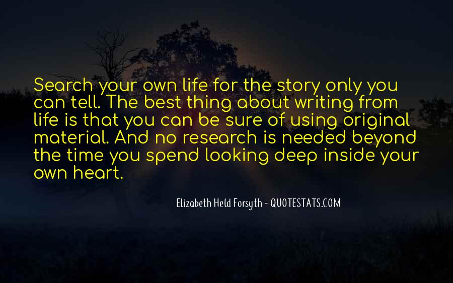 Thing About Life Quotes #69961