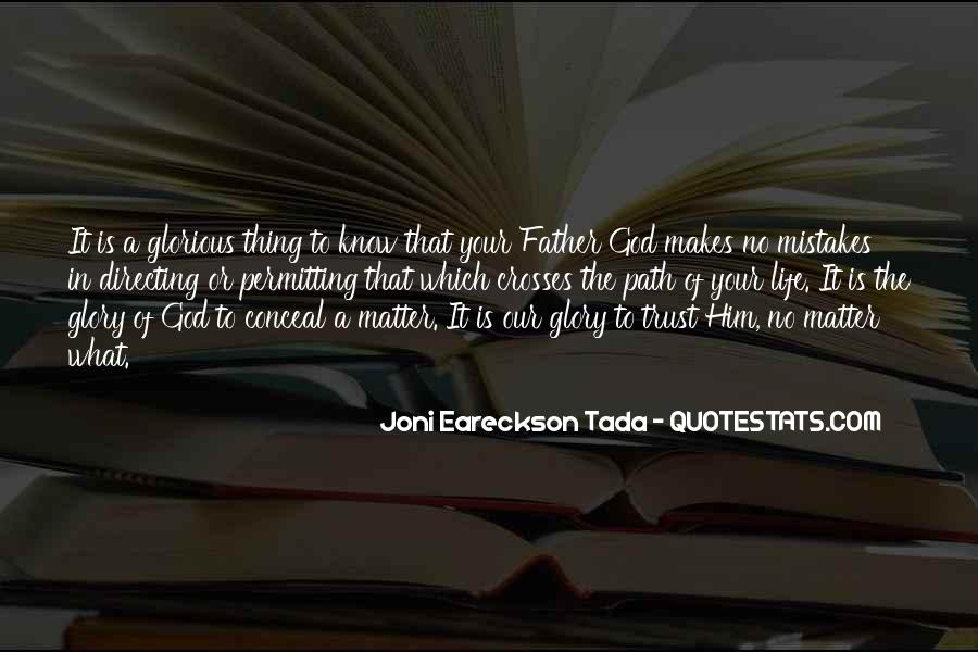 Thing That Matter Quotes #179038