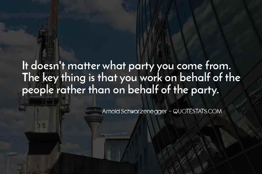 Thing That Matter Quotes #18000