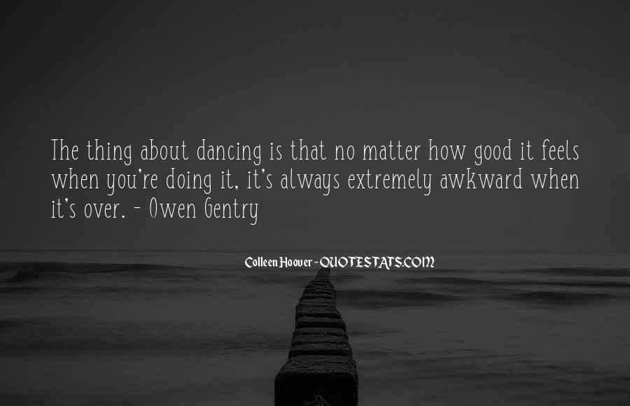 Thing That Matter Quotes #210780