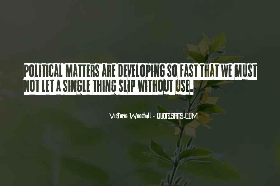 Thing That Matter Quotes #215624