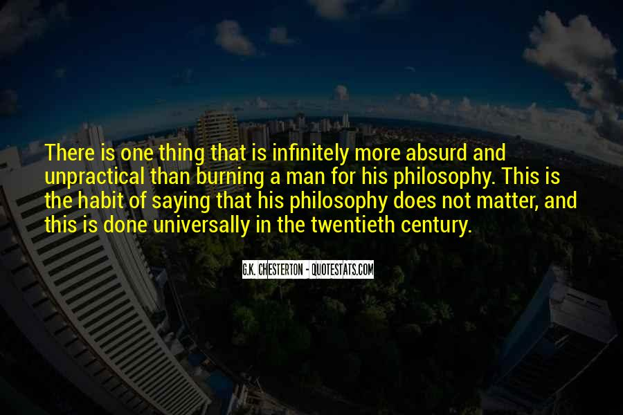 Thing That Matter Quotes #334205