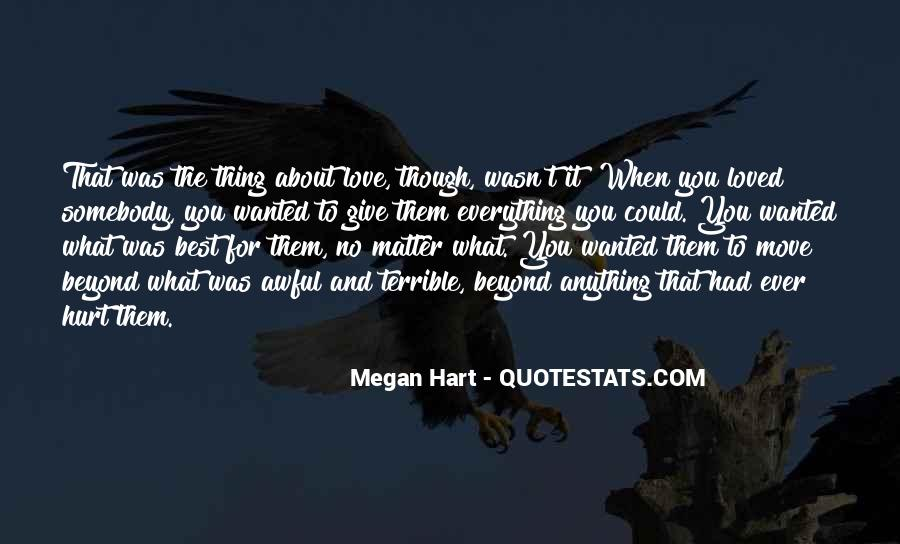 Thing That Matter Quotes #75524