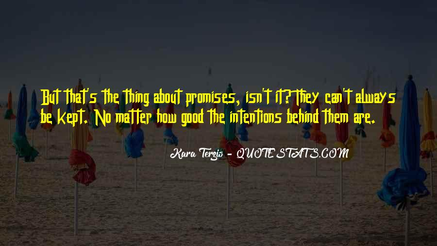 Thing That Matter Quotes #87117