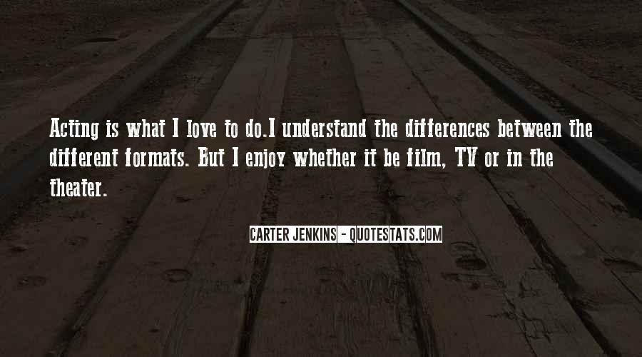 Things Are Different Between Us Quotes #142484