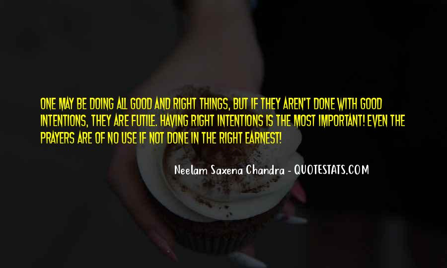 Things Are Important Quotes #106032