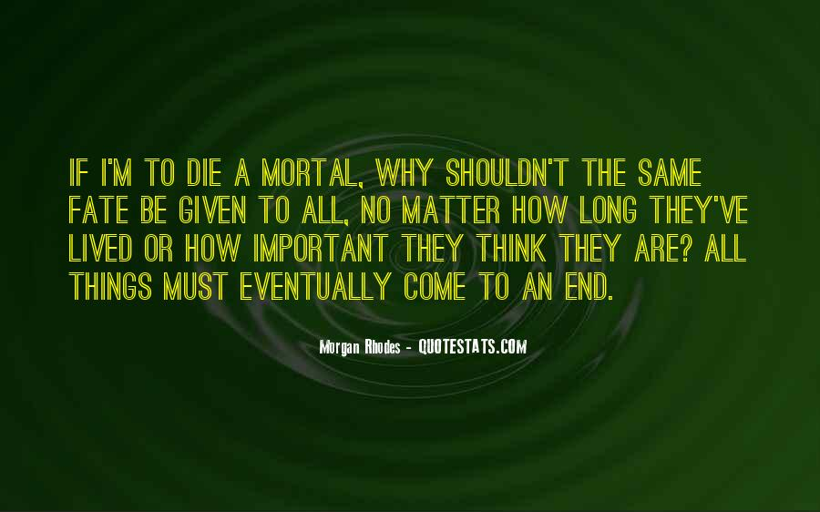 Things Are Important Quotes #107250