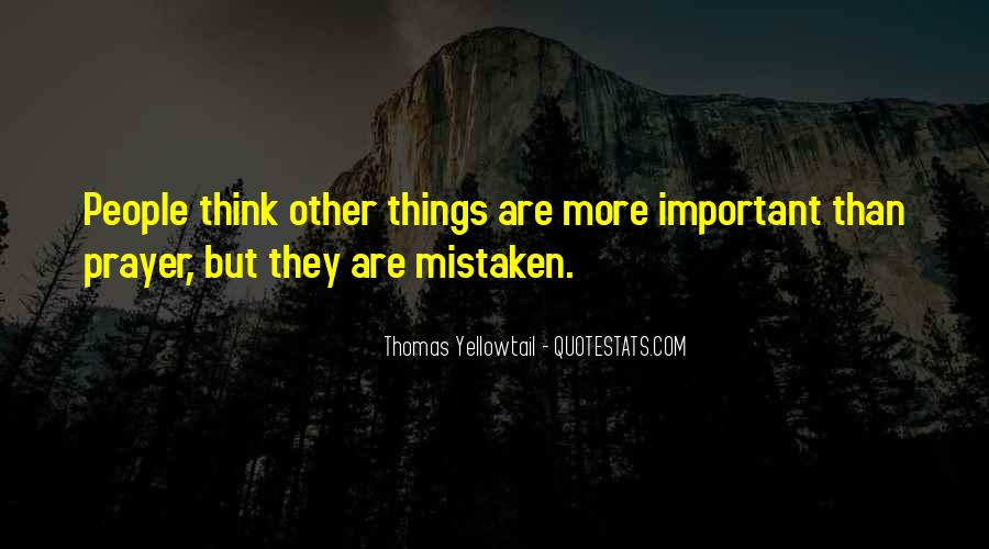 Things Are Important Quotes #119980