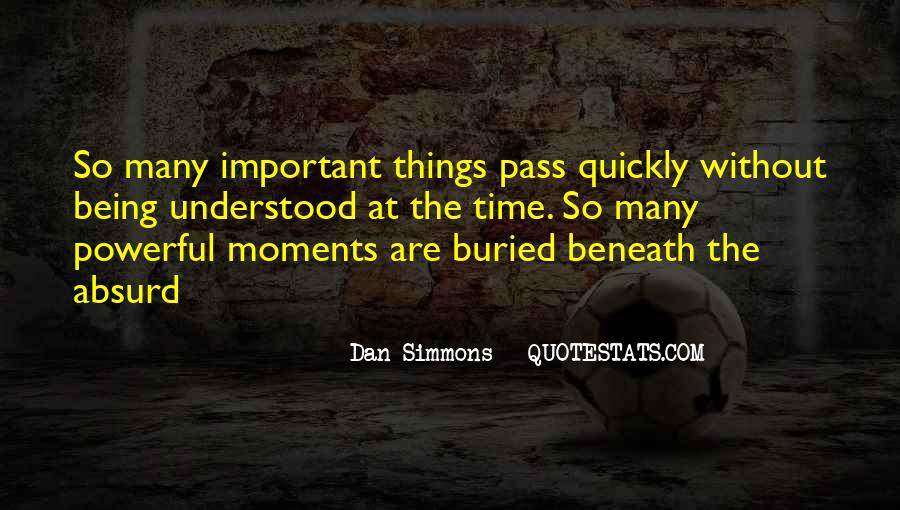 Things Are Important Quotes #152428