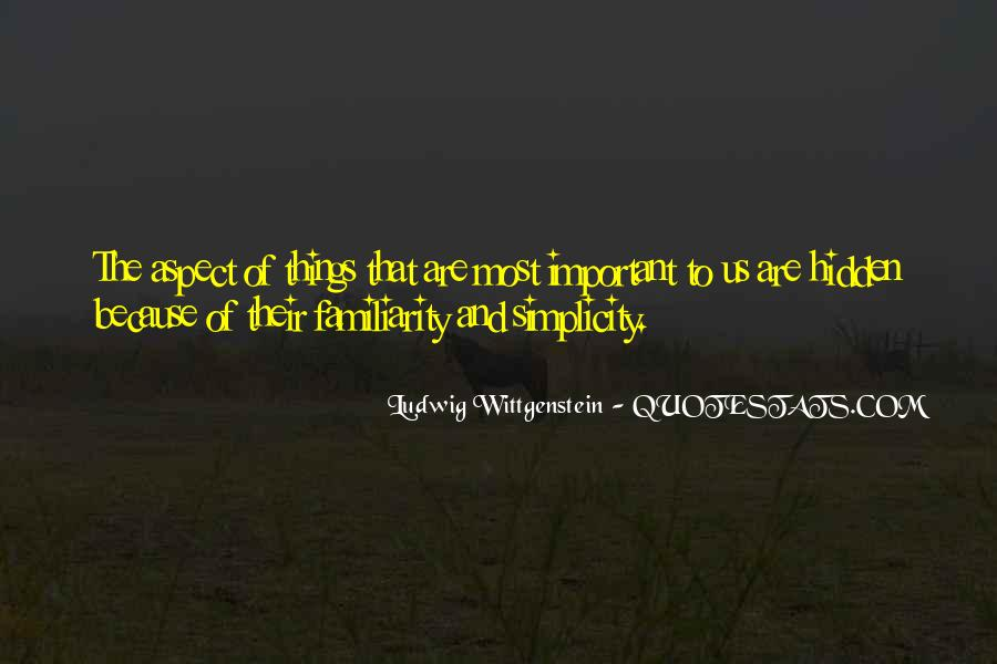Things Are Important Quotes #15610