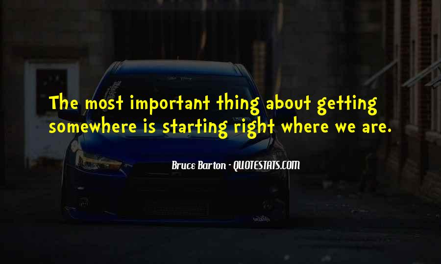 Things Are Important Quotes #164440