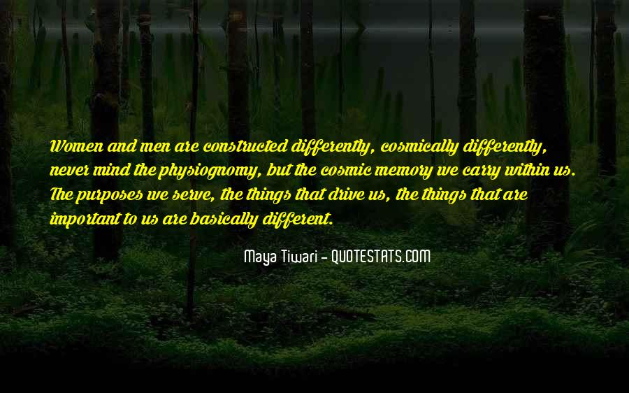 Things Are Important Quotes #184804