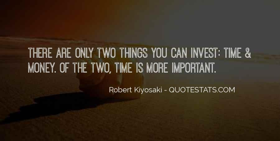 Things Are Important Quotes #44307