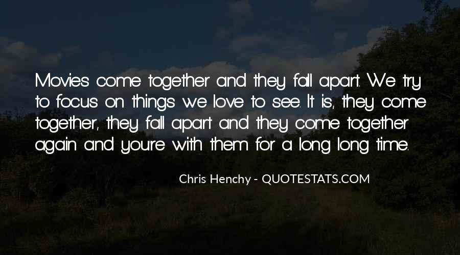Top 48 Things Fall Apart Love Quotes: Famous Quotes ...