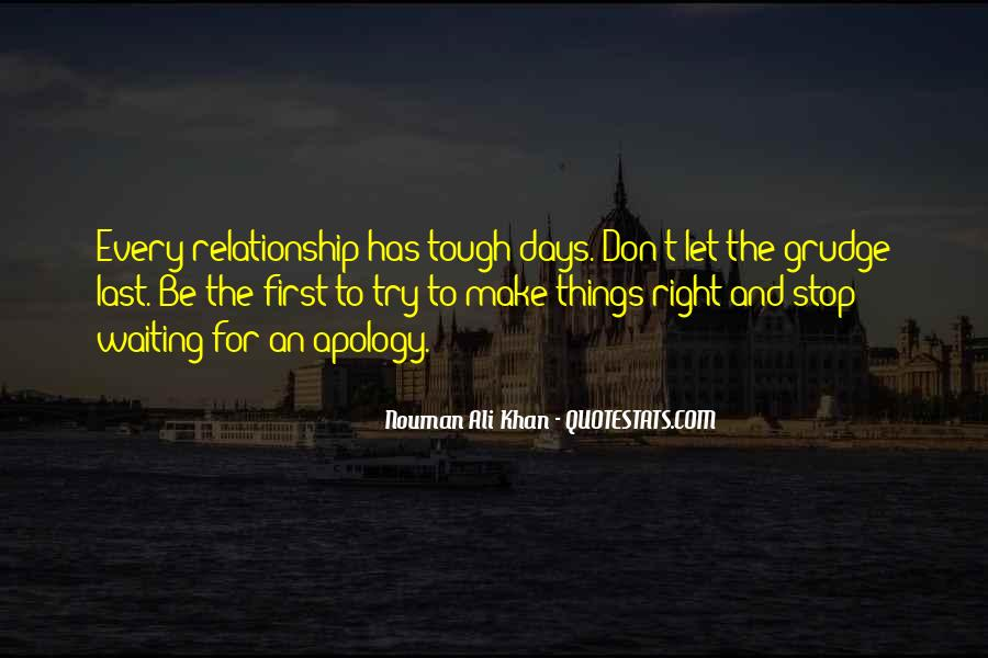 Things Get Tough Relationship Quotes #1294090