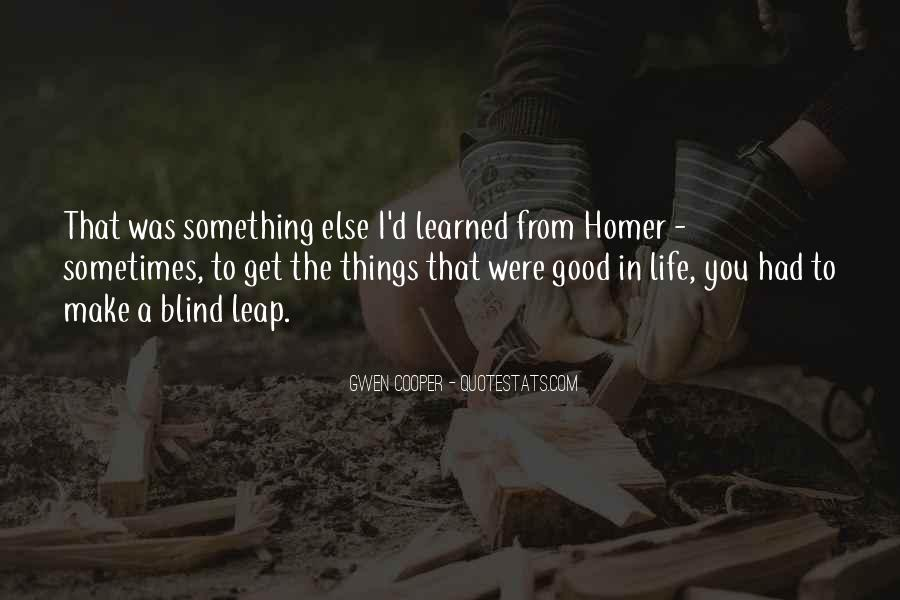 Things Learned In Life Quotes #211493