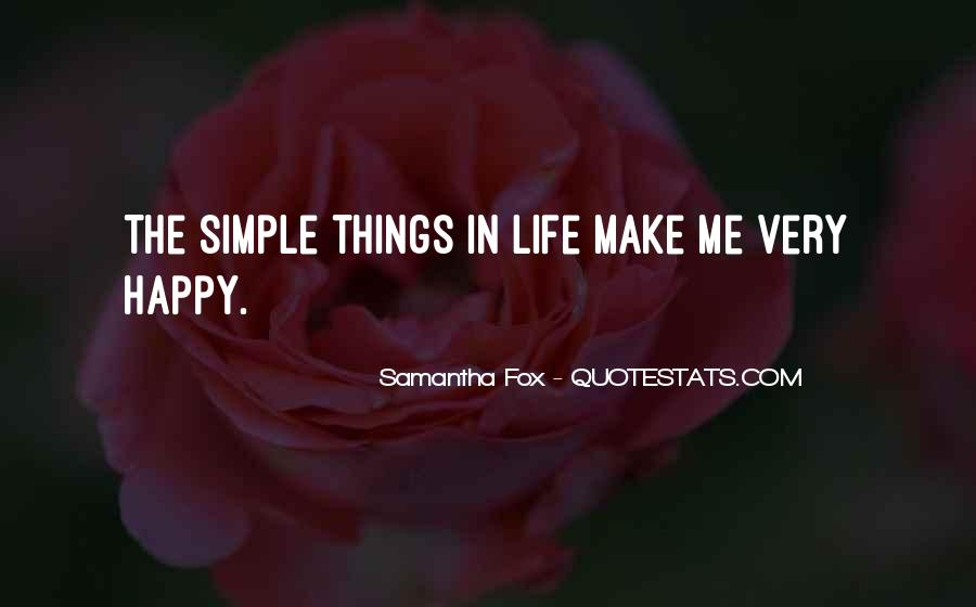 Things Make You Happy Quotes #154669