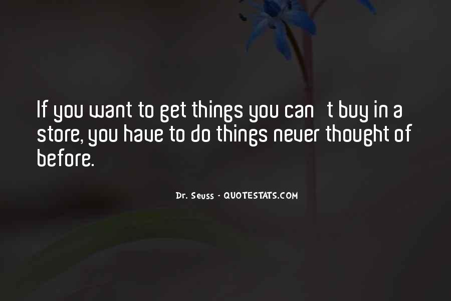 Things You Can't Buy Quotes #11961